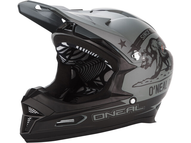 O'Neal Fury RL Helm california-black/grey
